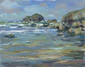 Retreating Tide, Pembrokeshire