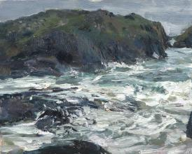 Kynance Cove, Rough Sea